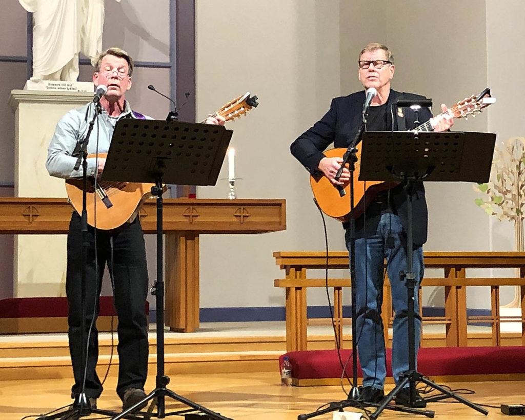 Mikael Söderblom och Rainer Roth