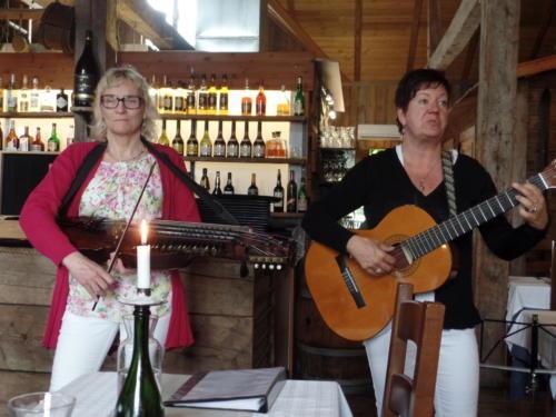 Ingmari Romell och Ann- Catrine Persson